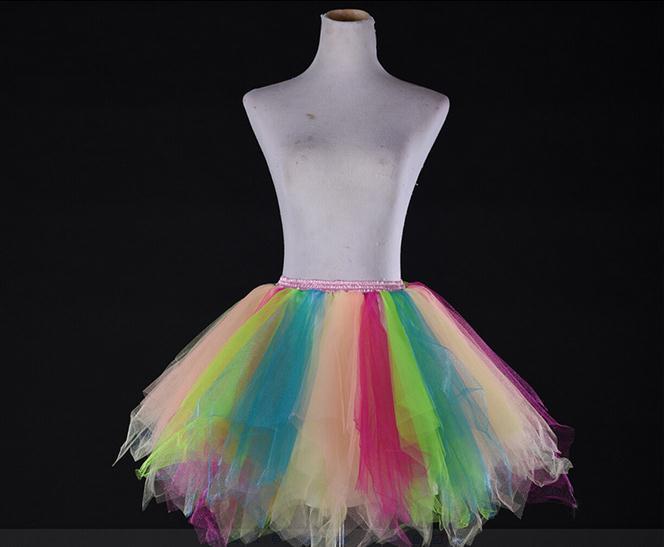New-Womens-Fancy-Dress-Party-Ballet-Dance-Stage-Show-Mini-Tutu-Skirt-Pettiskirt