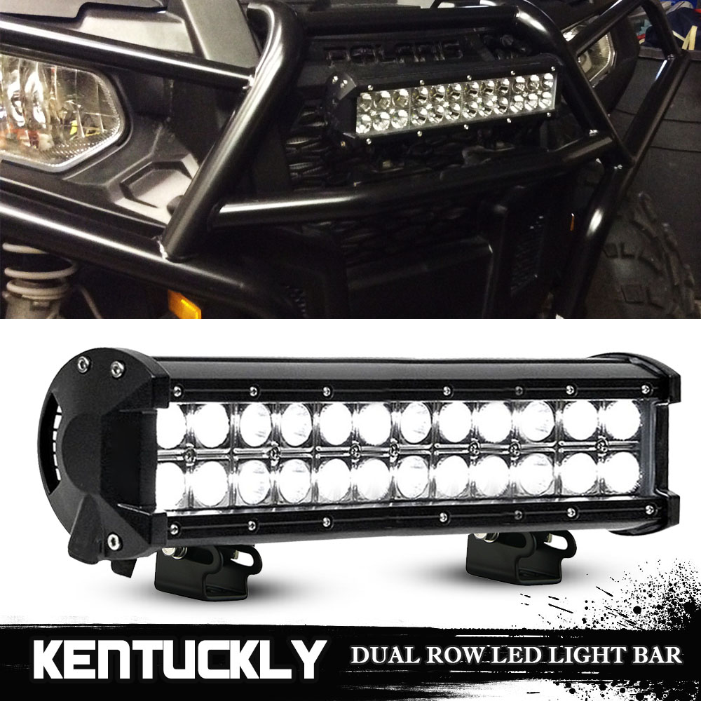 11 8 Quot Inch Led Light Bar For Polaris Sportsman Ace Ranger General Rzr Utv Atv Ebay