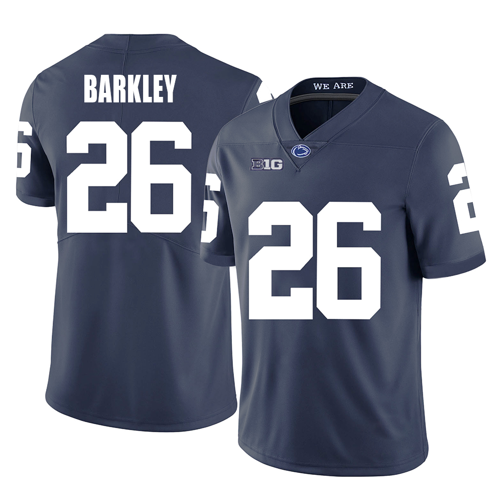 eeb56ad3b Saquon Barkley #26 Penn State Nittany Lions Stitched Jersey Football  College Men