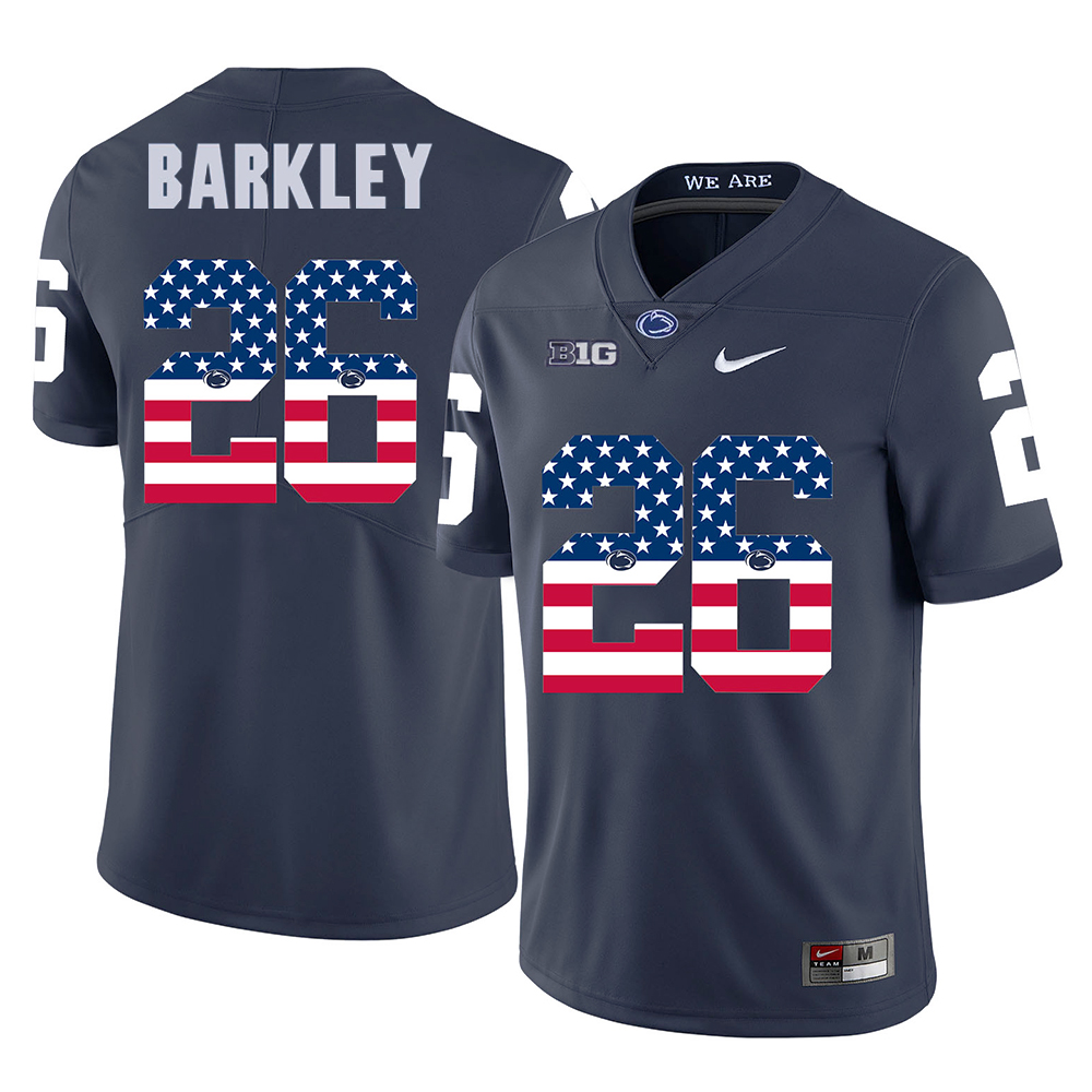 Saquon Barkley  26 Penn State Nittany Lions Stitched Jersey Football College  Men aa1d9a0cf