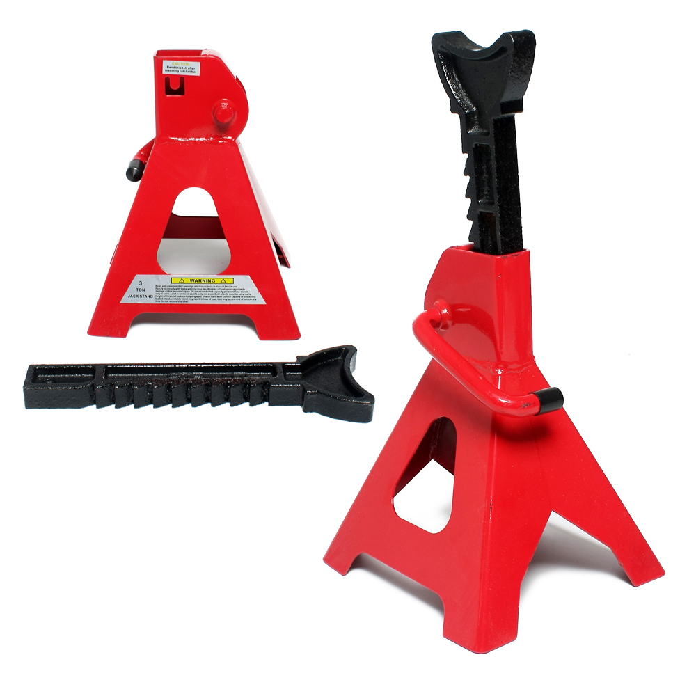 Pair of Folding Hilka Adjustable Axle Stands 2 Tonne 2000kg Axel Stands//supports