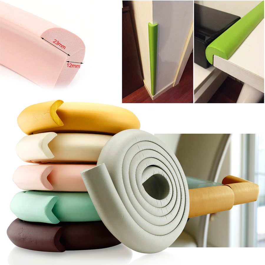 Fast Cushion W Edge Desk Corner Softener Safety Table Baby Protector Strip