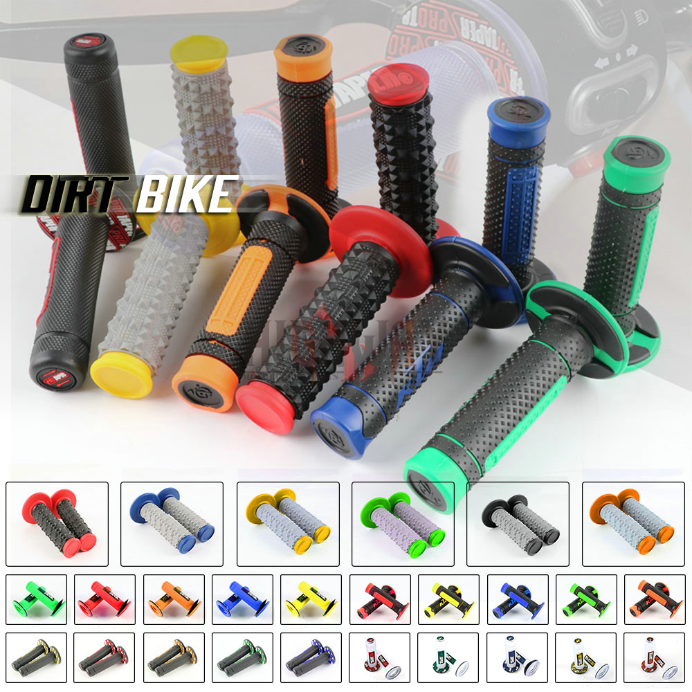 "New Rubber Motorcycle 7//8/"" GEL Hand Grips Handlebar Handle Bar ATV Dirt Bike"