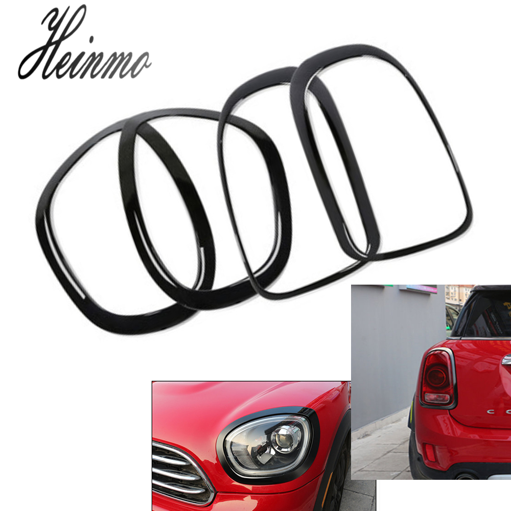 Black Red Trim 2x Front Seat Covers Set For Mini Cooper Hatchback 2006-2013