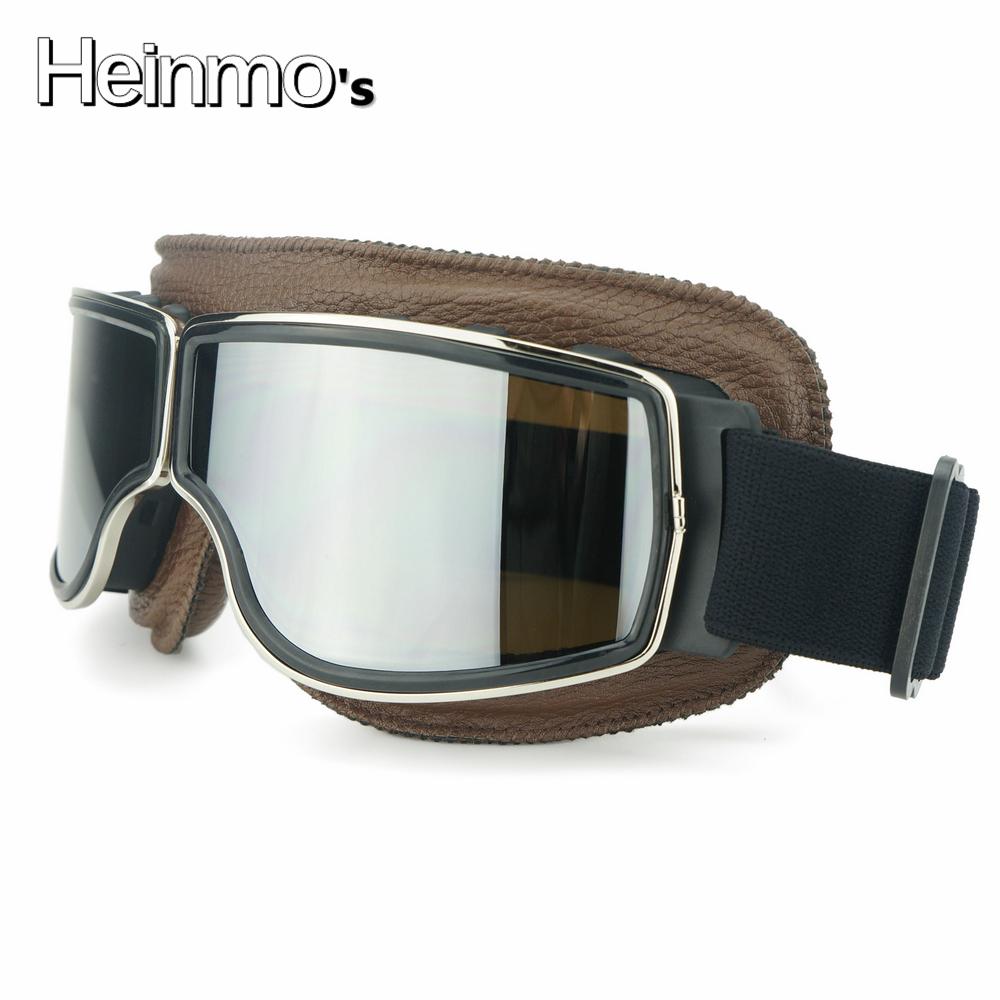 retro motorrad brille helm brille bobber chopper flying. Black Bedroom Furniture Sets. Home Design Ideas
