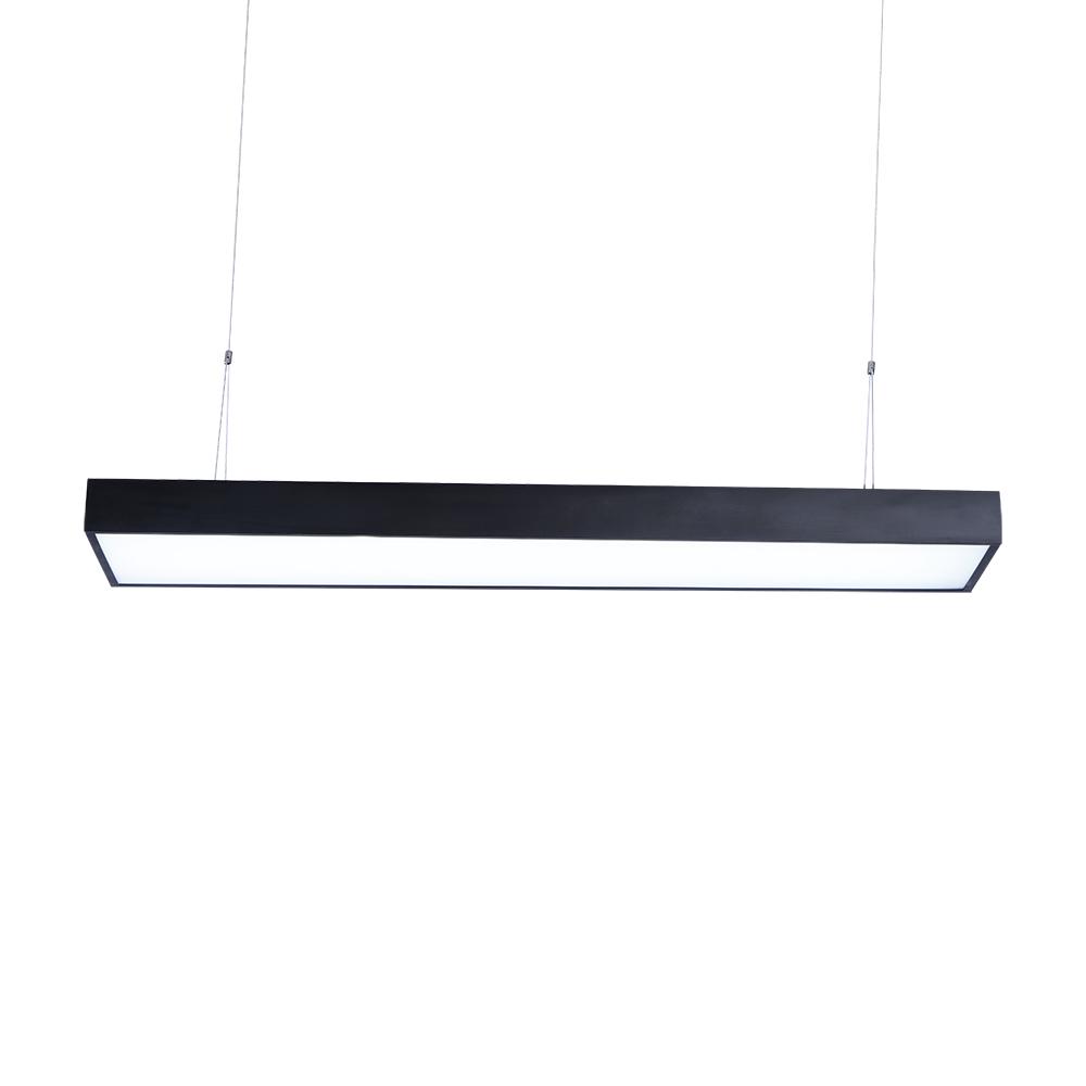 48w 60w h ngeleuchte deckenlampe led pendelleuchte office b ro beleuchtung licht ebay - Pendelleuchte buro ...
