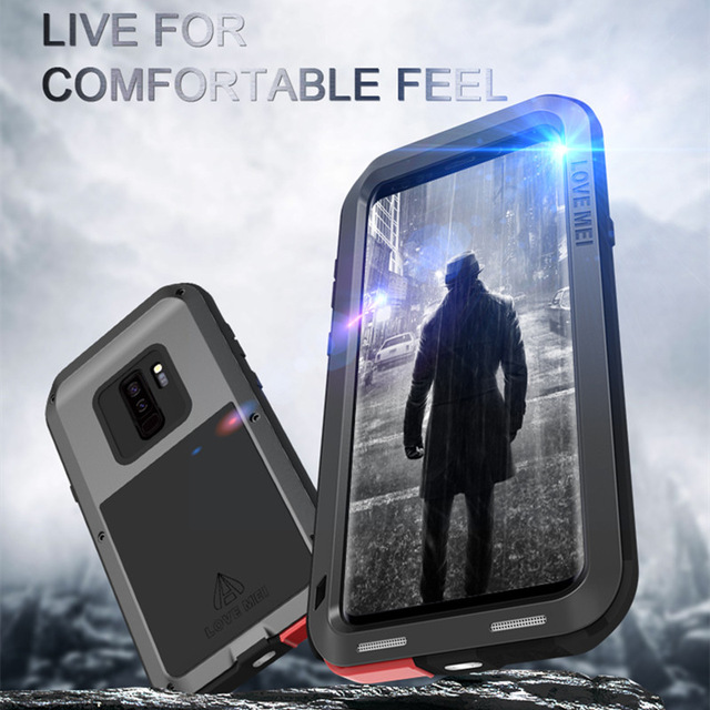 save off b36e3 ae2b9 Details about LOVE MEI Aluminum Metal Shockproof Case Cover for Samsung  Galaxy S10 Plus Note 8