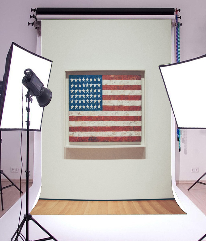 Photo Backdrop Background American Flag Frame Photography Vinyl ...