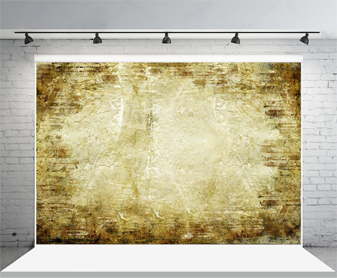 7x5FT Prop Old Color Studio Backdrop Canvas Background Photography ...
