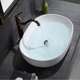 waschbecken aufsatz mit awesome mineralguss eckig with. Black Bedroom Furniture Sets. Home Design Ideas