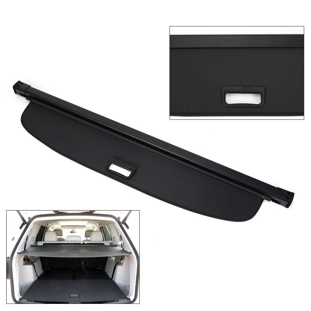 For 18-19 Volkswagen Atlas Cargo Cover OE Style Retractable Trunk Luggage Shade