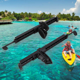 Set 2 High Strength Foot Brace Rudder Control Footrest for Kayak Canoe Boat