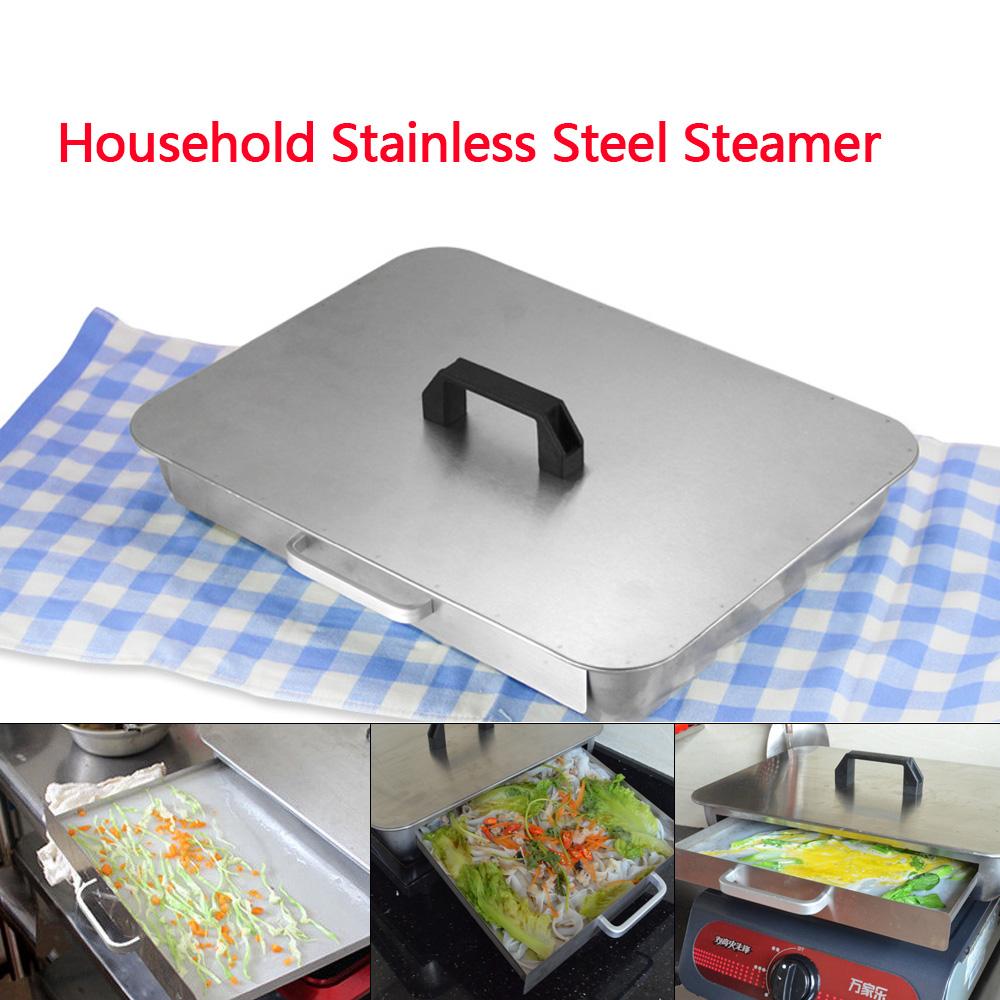 Stainless Steel Rice Noodle Rolls Machine Steamed Vermicelli Roll Steamer 肠粉机