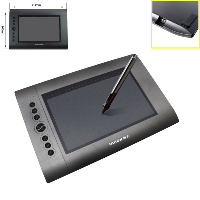 h610 graphics drawing art design tablet board for windows mac os w