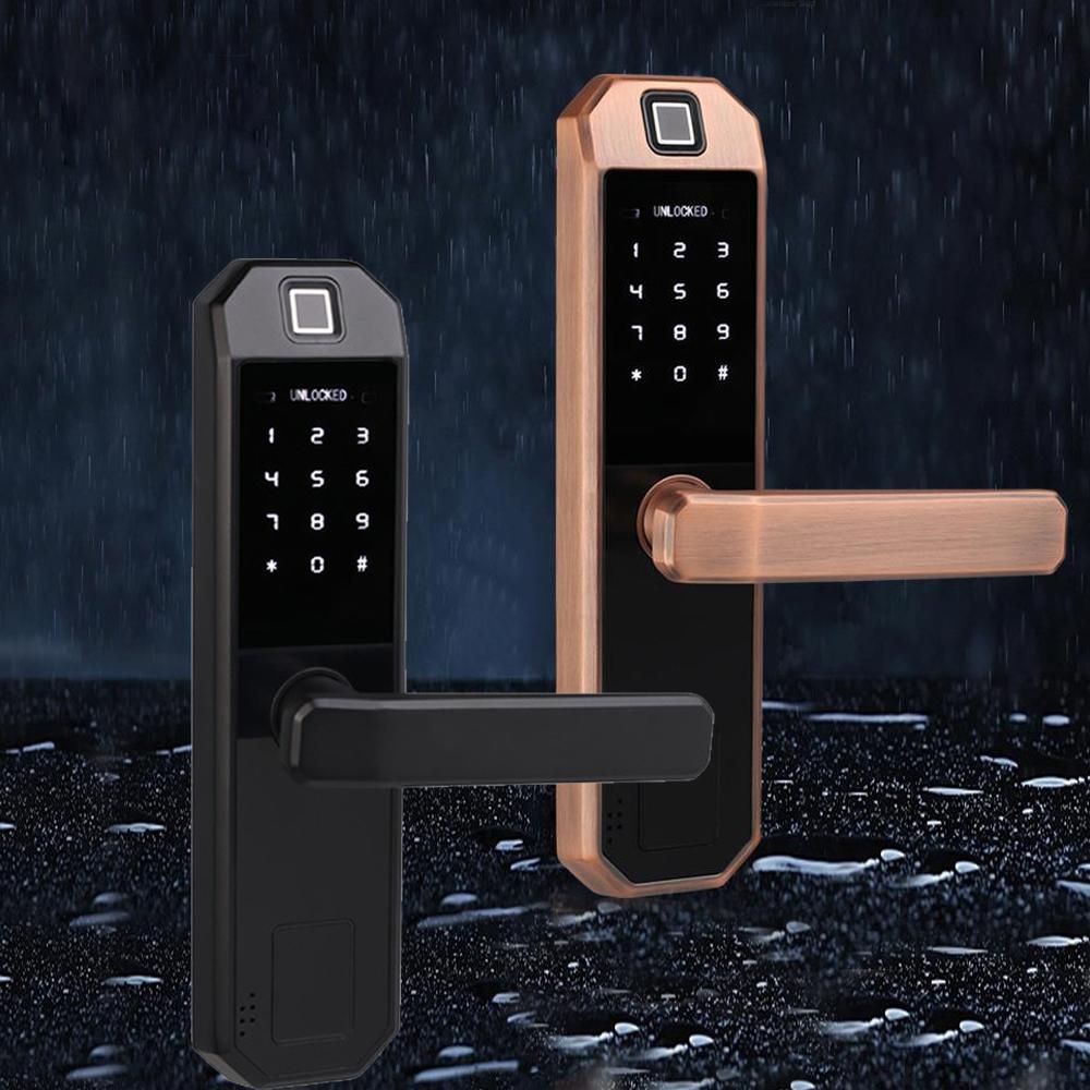 Keyless Fingerabdruck Türschloss Elektronisches Intelligentes Fingerprint Lock
