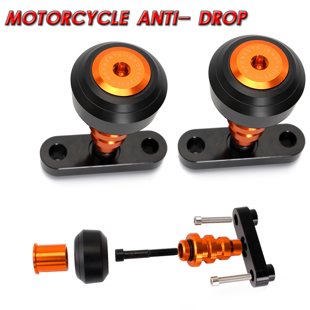For KTM Duke 125 200 390 Duke Frame Left and Right Sliders Crash Protector