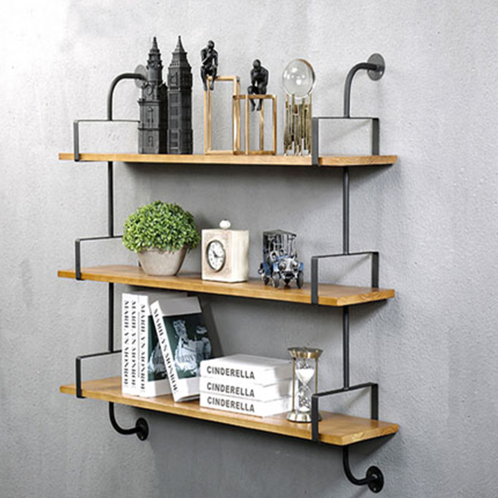 finest selection 76fcc c2fc1 3 Layer Home Wall Shelves Modern Ladder sturdy storage books ...