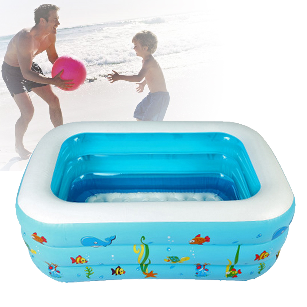 1.3m Portable Baby/Kid/Toddler Inflatable Bathtub Newborn Thick ...
