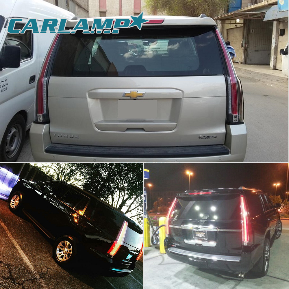 Led Escalade Tail Lights Conversion For Chevrolet Tahoe Suburban Light 2015 2017
