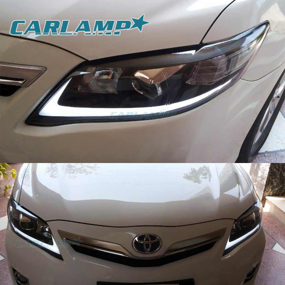 Maxresdefault also Toyota Camry Headlight Lenses Cover Plastic Glasses also D Ef C Ae Feb E furthermore S L likewise . on led headlights for 2010 toyota camry