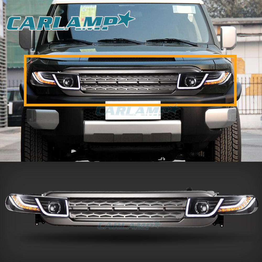 Led Headlights Amp Tail Lights Amp Grille For Toyota Fj
