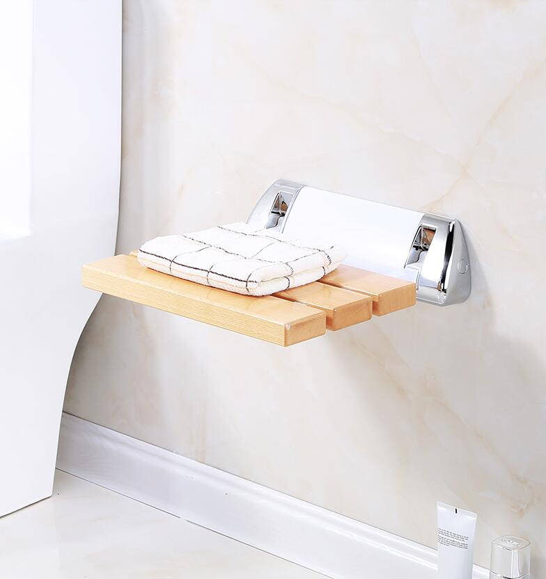 Phenomenal Details About Beech Folding Shower Seat Wall Mounted Chair Shower Stool Bathroom Chair Elder Ocoug Best Dining Table And Chair Ideas Images Ocougorg