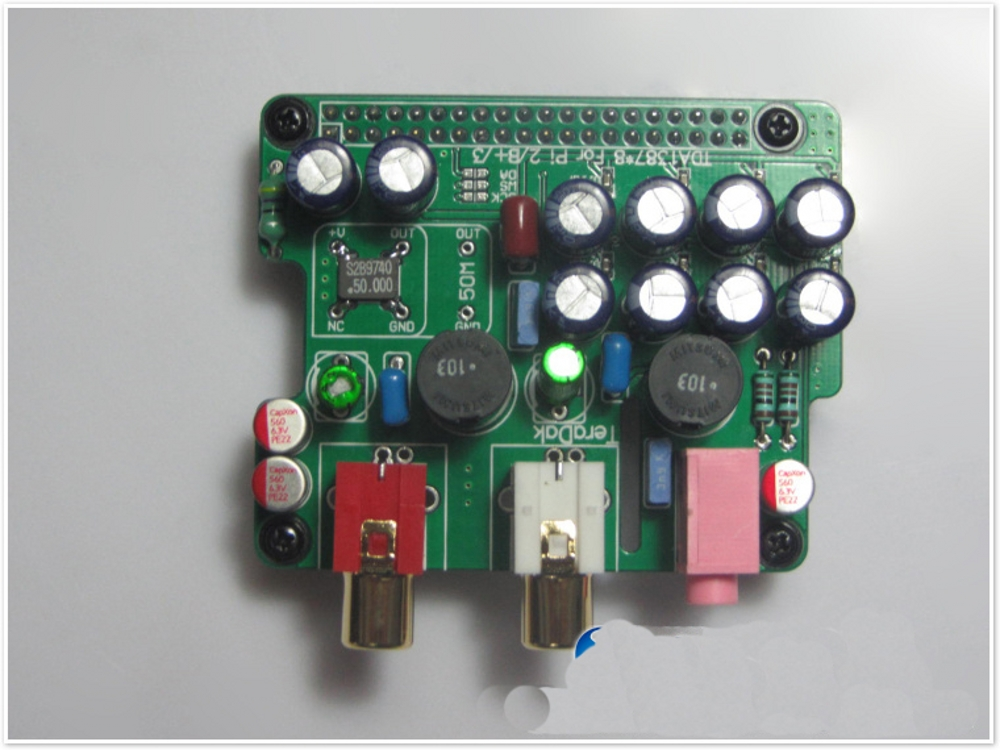 HIFI 8PCS TDA1387 In Parallel Module Replacement Substitution TDA1541 TDA1541A