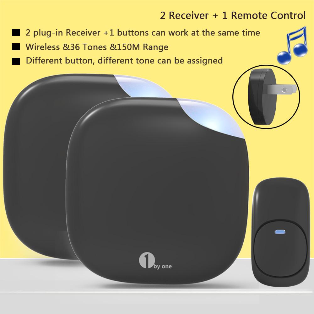 1Byone Wireless Door Chime Plug In Doorbell 36