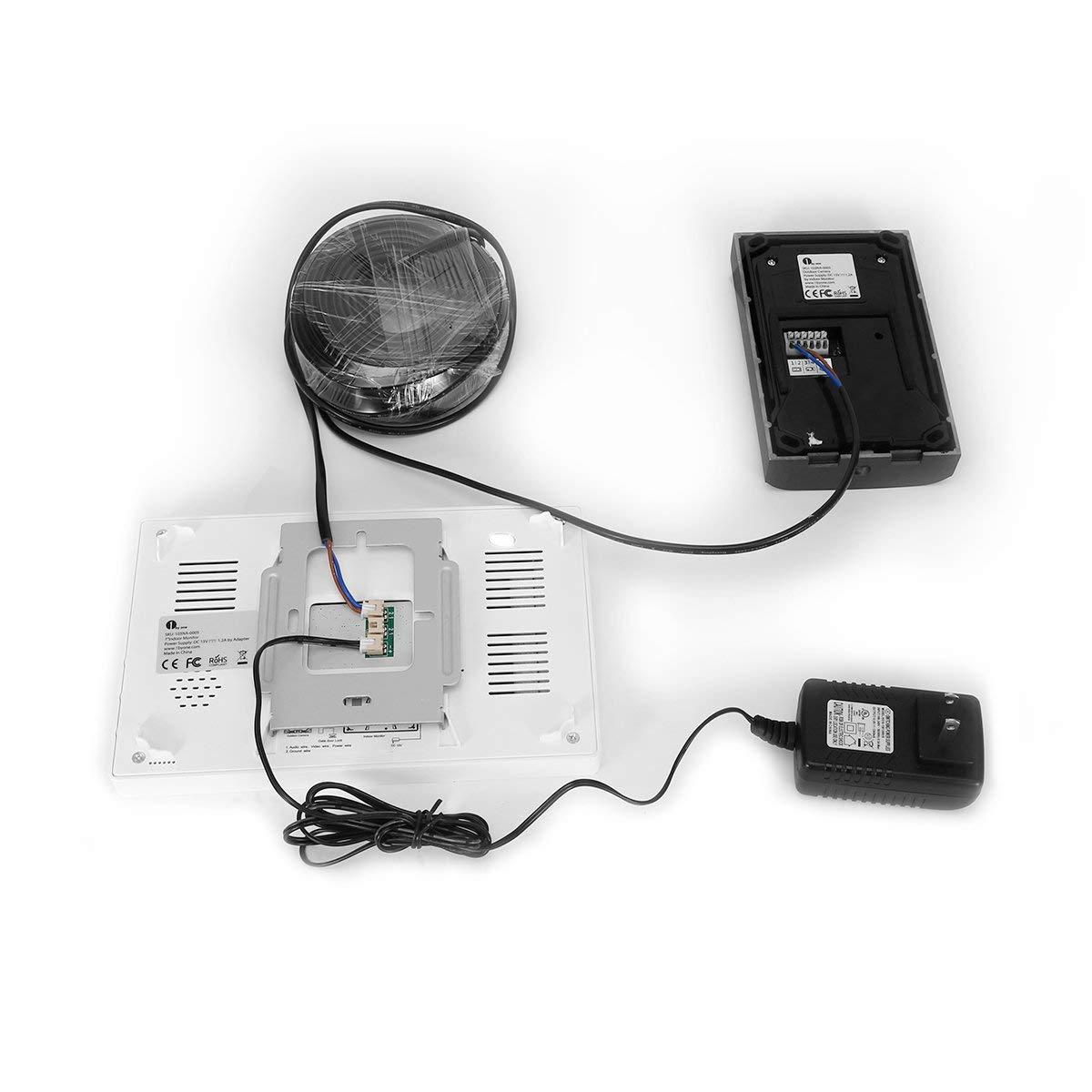 1byone Smart Wireless Video Doorbell Intercom Camera Door Chime Home Electrical Wiring Security