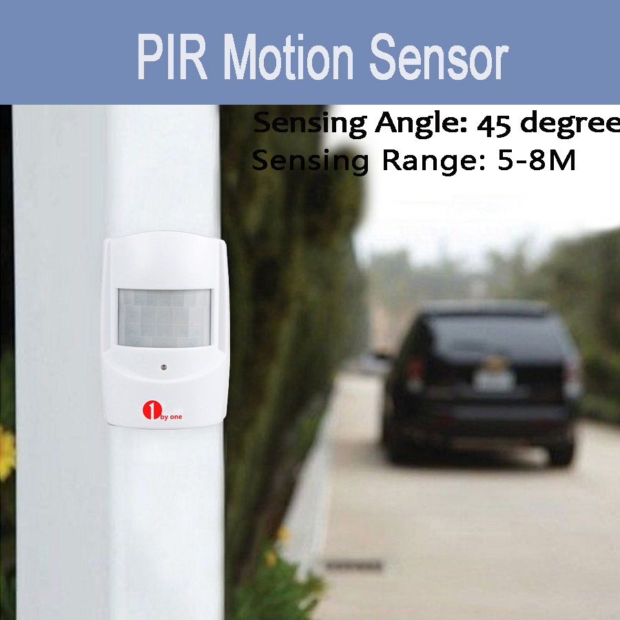 Wireless Motion Sensor Car Detector Door Bell Gate Entry Chime ...