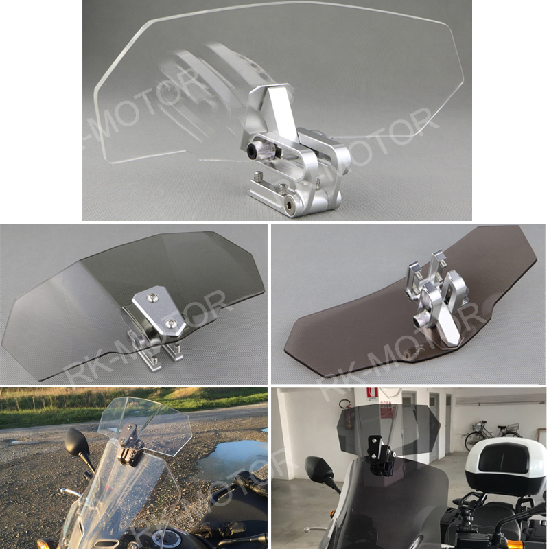 Adjustable Clip On Windshield Windscreen Extension For