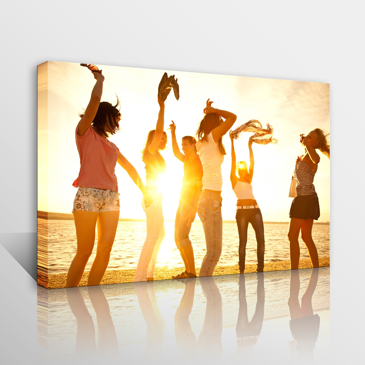 Custom Poster Print Your Own Photo on Canvas Art Home Office Bar ...