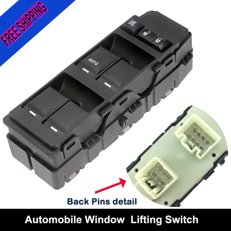 Dodge Avenger Master Power Window Switch Replacement For