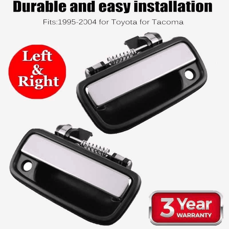 Chrome Front Left SideExterior Door Handle for 95-04 Toyota Tacoma 69220-35020