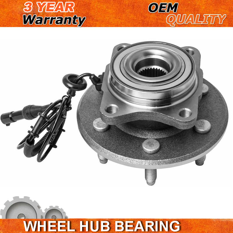 For 03-06 Ford Expedition Lincoln Navigator REAR Wheel Bearing Hub 2WD 4WD 6Lug