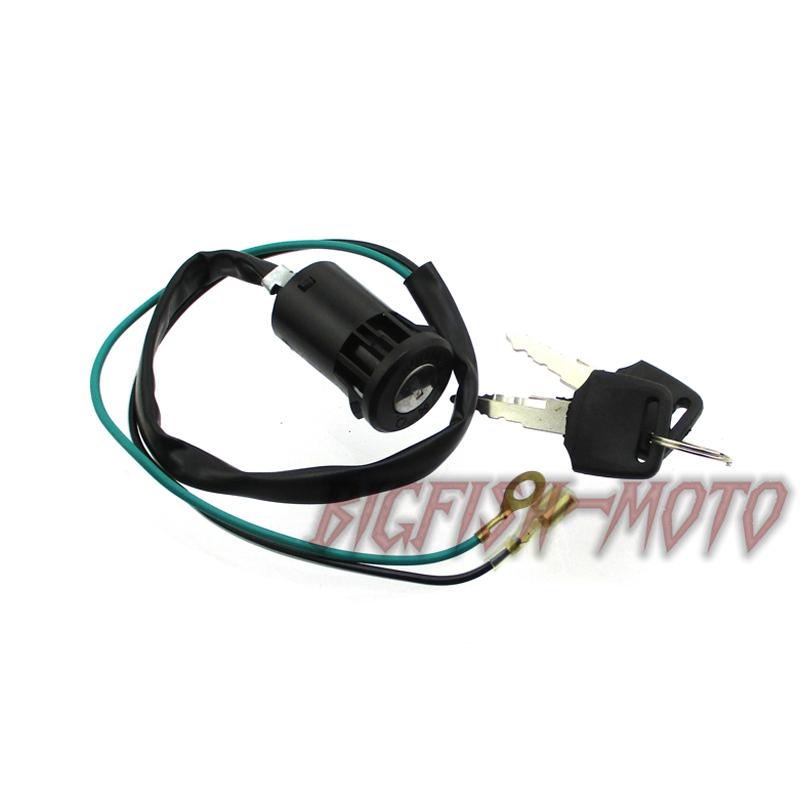 2 Wire Ignition Key Switch For Mini Dirt Pocket Bike Kids ATV Quad ...