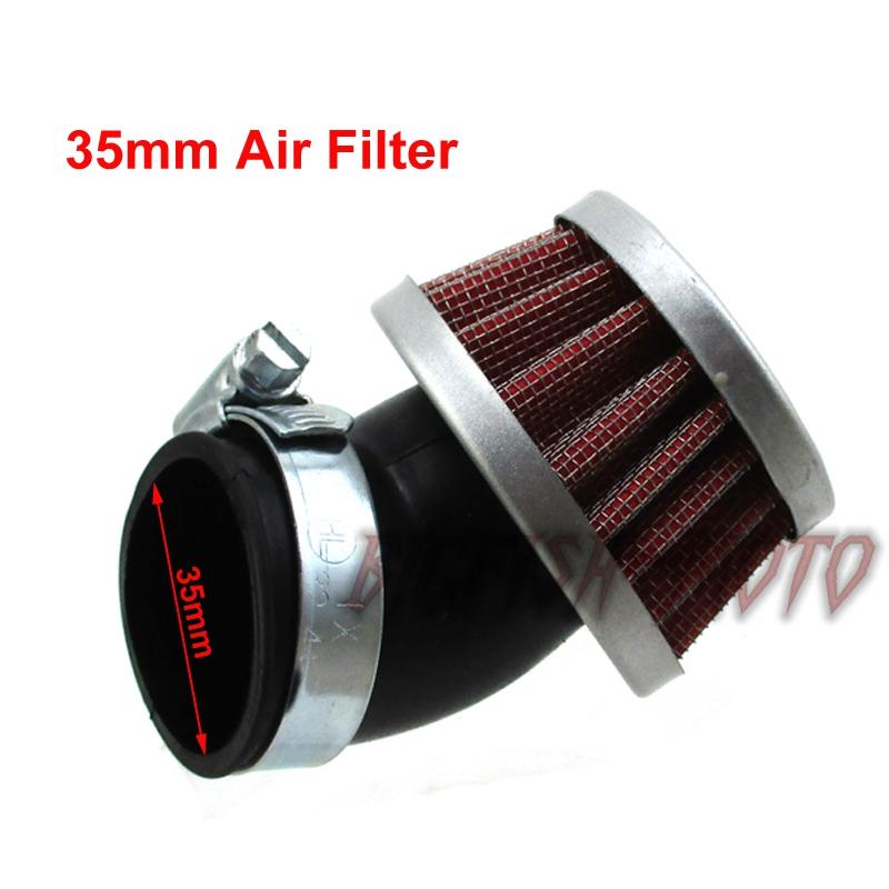 35mm Luftfilter Für  50cc 90cc 110 125cc ATV Pit Bike Taotao SSR XRF50 Coolster