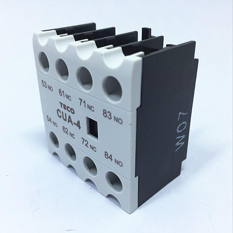 1pcs NEW TECO CUA-4 AC Contactor