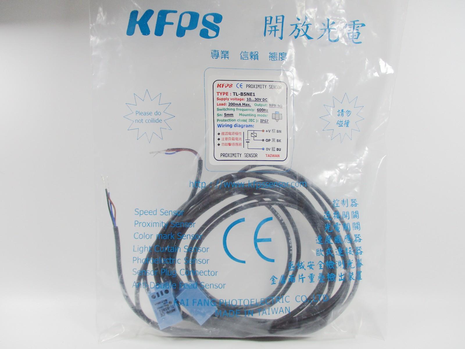 1pc New Kfps Proximity Switch Tl B5ne1 628243313659 Ebay Wiring Diagram Further 3 Wire Sensor