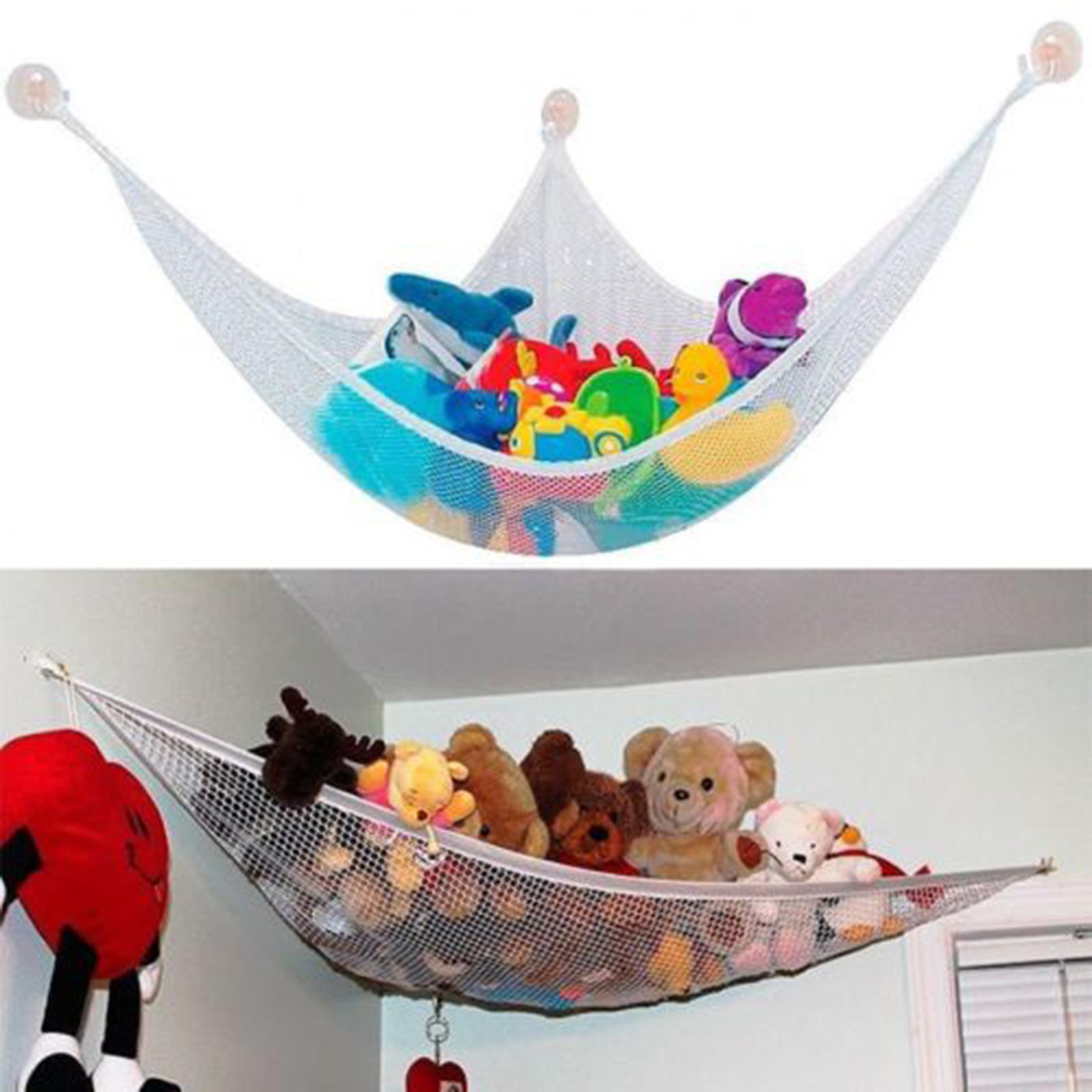 Doll Stuffed Plush Hanging Net Baby Toys Storage Bags Hammock Space Saving US  sc 1 st  eBay & Toy Hammock Net Baby Kids Stuffed Doll Hanging Storage Bags Toys ...