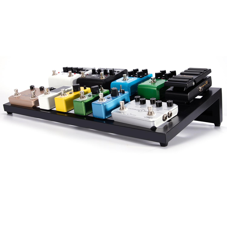 donner big guitar pedal board db 3 suitcase aluminium pedalboard bag ebay. Black Bedroom Furniture Sets. Home Design Ideas