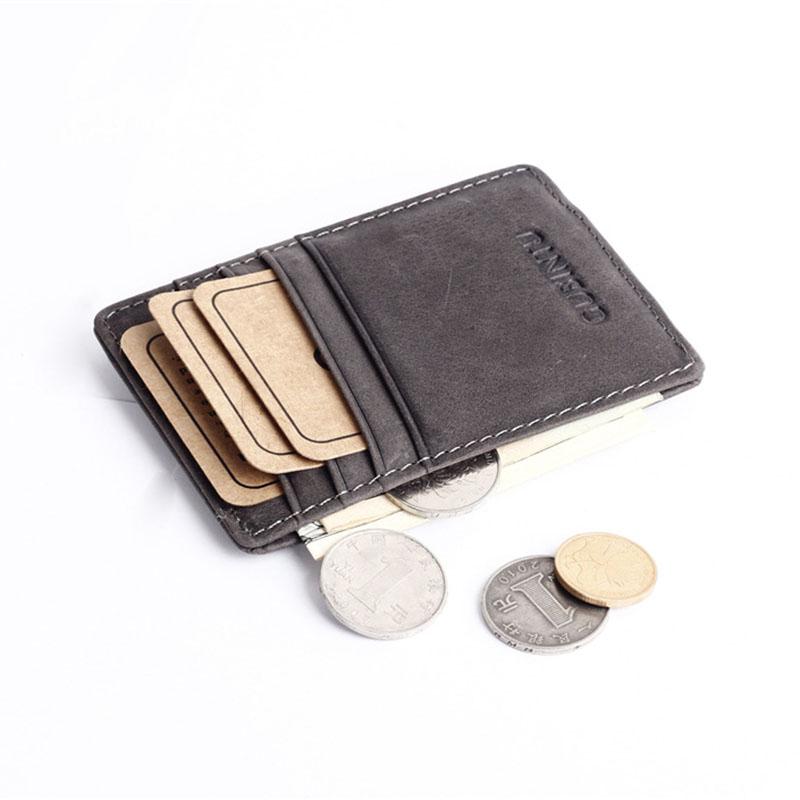 Slim-Men-s-Leather-Magnet-Wallet-Credit-Card-ID-Holder-Money-Clip-Front-Pocket thumbnail 20