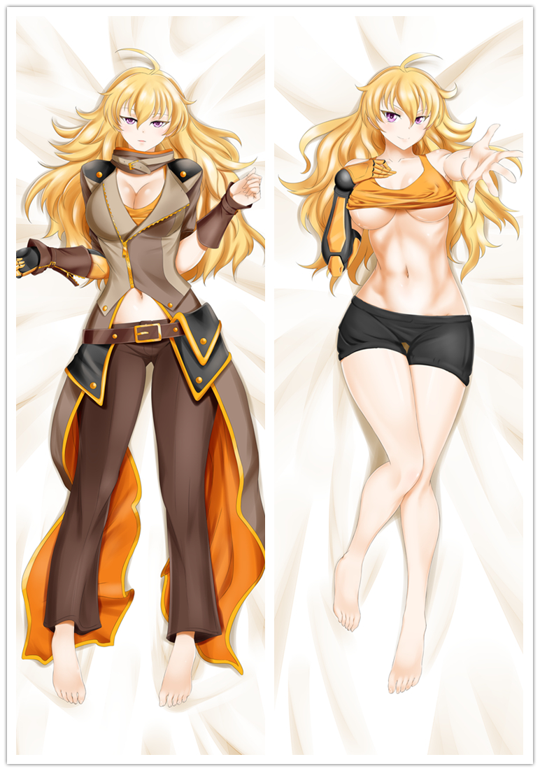 dakimakura anime rwby blondie yang xiao long hugging body pillow case cover 3 collectibles other anime collectibles ihslyrics com www ihslyrics com