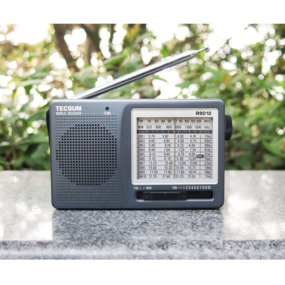 TECSUN R-9012 AM FM SW 12 Bands Shortwave Radio Receiver