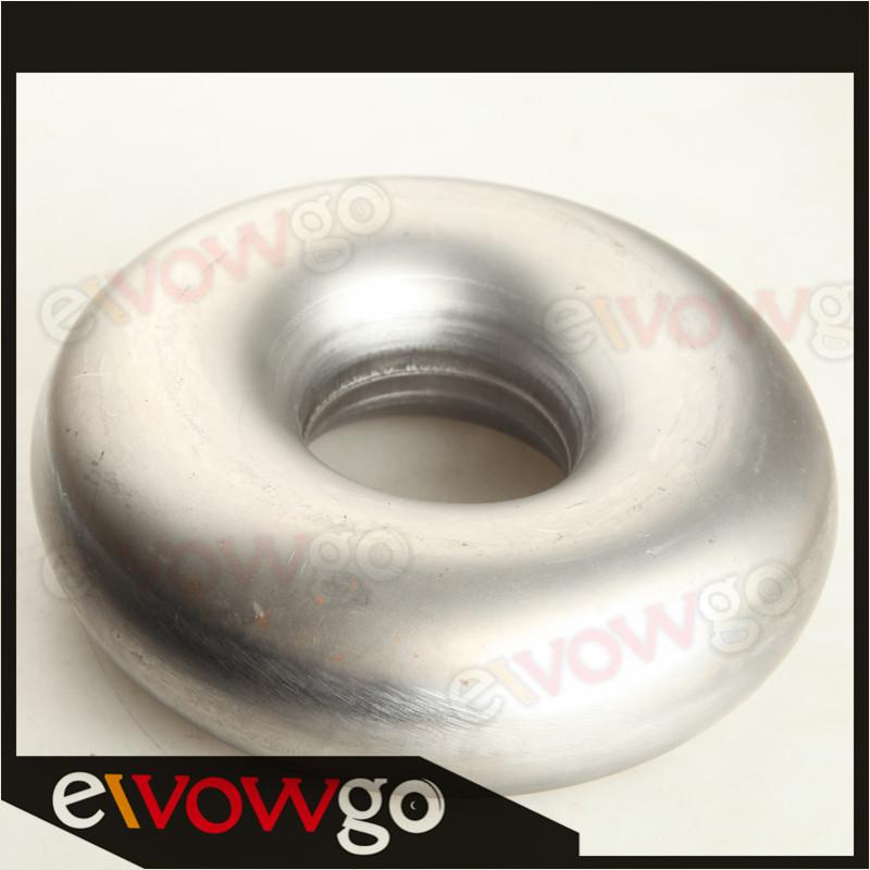 "Mandrel Bend Donut Turbo Exhaust Intake Pipe Mild Steel 2.25/"" US"