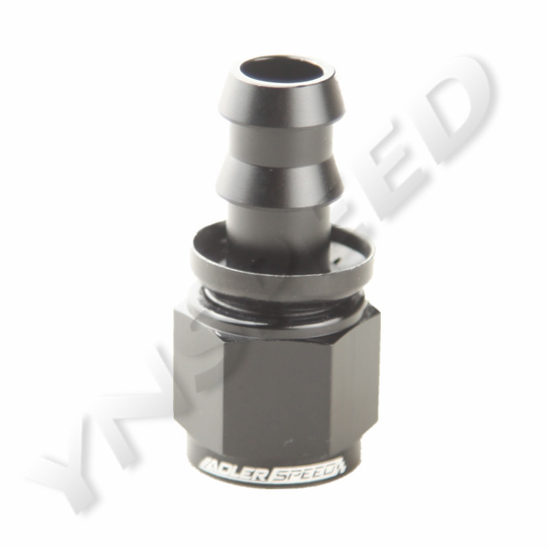 ALUMINUM T4-4AN AN4 4-AN STRAIGHT PUSH-ON OIL//FUEL LINE HOSE END MALE FITTING
