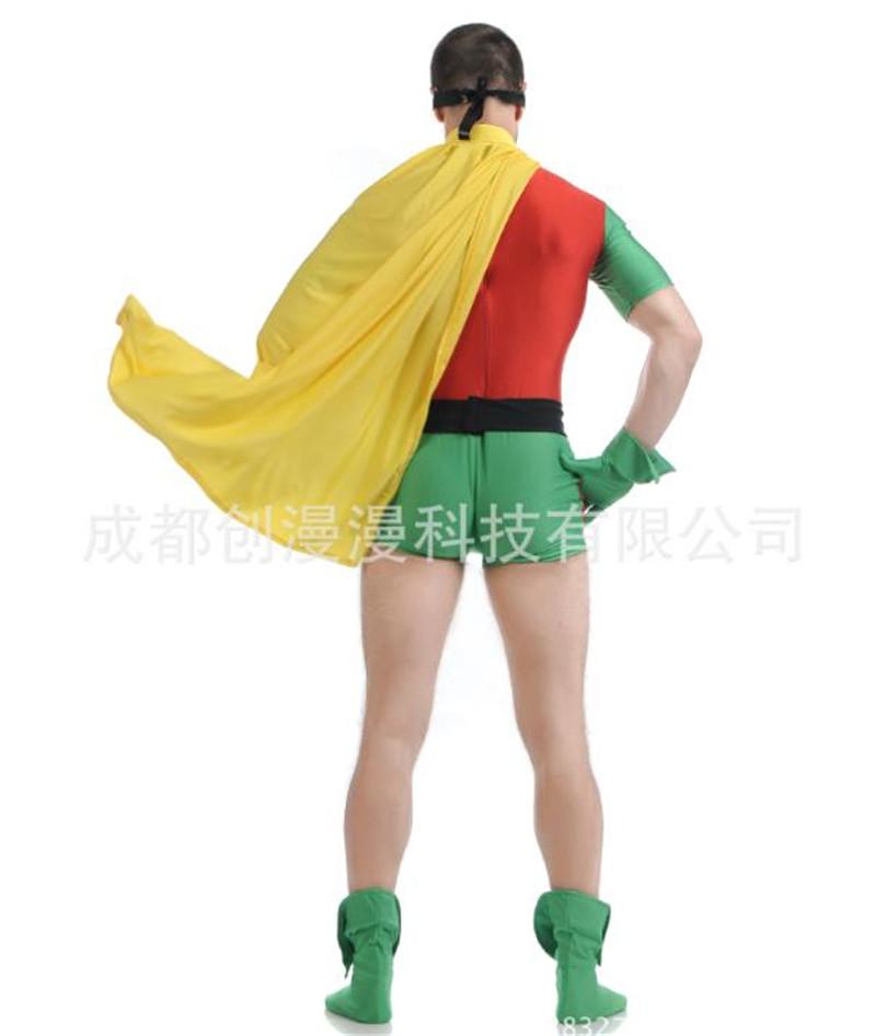Robin Hood Cosplay Costume Earl of Huntington Jumpsuit Bodysuit Zentai Suit Hot