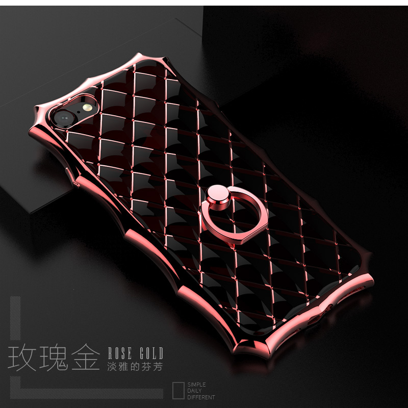 Shockproof-Bumper-Soft-TPU-Silicone-Ring-Stand-Case-Cover-For-iPhone-6s-7-8-Plus