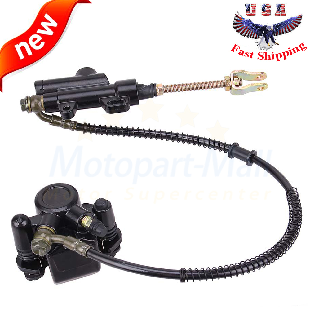 Universal Rear Diac Brake Pump with Reservoir for 125cc Motorcycle ATV Quad
