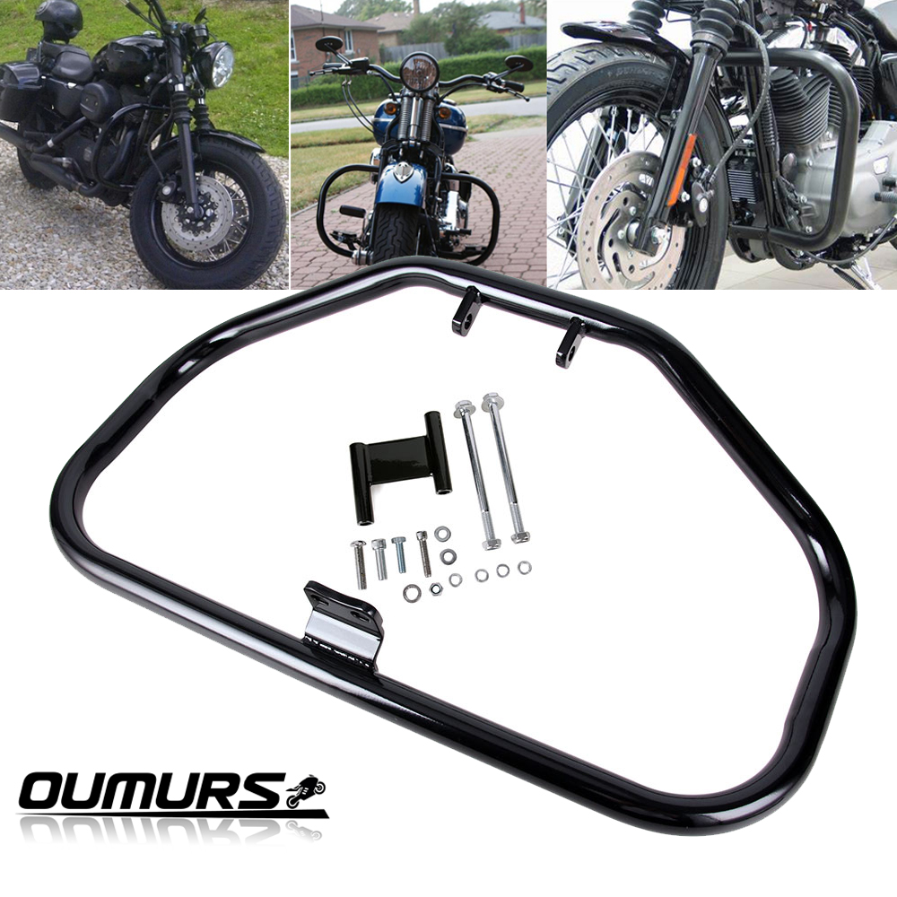 Engine Guard Crash Bar Chrome For Harley Sportster 883 1200 XL XR 1984-2003 New